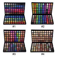 Wholesale multi color eyeshadow set resale online - Professional Eye Shadow Palette Makeup Color maquiagem Makeup Set Matte Shimmer Nude Eyeshadow DHL