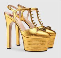 best eu 34 shoes  - New hot Brand Thick Bottom Platform Shoes Patchwork Woman Summer Sandals Gladiator Super sexy stiletto heel Fashion shoes Eu 34-42