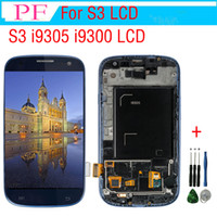 Wholesale touch display for samsung galaxy s3 for sale - Group buy i9305 lcd For Samsung Galaxy S3 i9305 i9300 LCD Display Touch Screen Digitizer Frame Replacement For galaxy S3 i9300 Display Tool