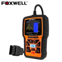escáner obd2 eobd al por mayor-FOXWELL NT301 OBD2 Herramienta de diagnóstico automático Analizador de motor de coche Lector de código Fecha en vivo Universal EOBD OBDII obd 2 Escáner automotriz