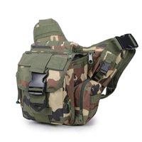 sacos do mensageiro do exército para homens venda por atacado-Tactica Militar dos homens novos Exército Fan Saddle Bag Bolsos Esporte Ao Ar Livre Caminhadas Correndo Caça Ombro Messenger Bag