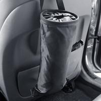 Wholesale wholesale car trunk organizer online - Car Seat Back Litter Bag Car Organizer Hanging Bags Pocket Tidying Trunk Adjustable Oxford Storage Bag for Car Home Office