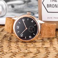 hochwertiges handwerk großhandel-Hochwertige Nomos Glashutte Club Herrenuhren German Craft Automatic Mechanical Watch Lederband Herrenuhr Luxus-Armbanduhren