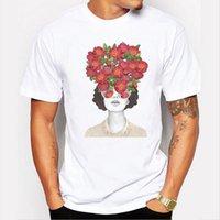 Wholesale Mens Blouse Shirts - Kanye West Man Brand Mens T Shirt Summer White Short Sleeve Blouse Fashion shirts Skull 3D Print Shirt hip hop t shirt mens Streetwear