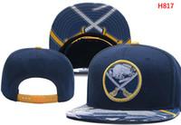 Wholesale leather headwear - High quality Men sunhat Hockey Sabres ball caps Buffalo Adjustbale Caps women strapback snap back Hats Snapback Headwear