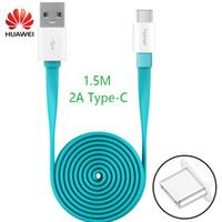 ladekabel großhandel-HUAWEI P9 Plus Schnelles Ladegerät Kabel Original 1.5M Typ-C USB Supercharger nova lite Ehre 8 9 note8 V8 V9 Gebührentyp C Datenkabel