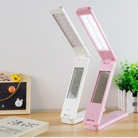 Wholesale Table Lamps For Children - Desk Lamp For Student Reading Lamps Child Eye-Protection Light LCD Display LED Table Lamp