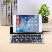 Wholesale VAKIND Foldable Portable Bluetooth Wireless Laptop Tablet Mini Keys Keyboard Office Accesssories for pad