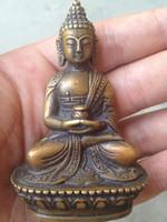antikes gold buddha-statue großhandel-Antike Hände tibetischen Buddha Bodhisattva Bronze Buddha Statue Dekoration