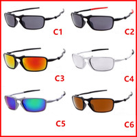 Wholesale sunglasses mixed colours resale online - Men Fashion Sunglasses Sports Motorcycle Spectacles Women Dazzle Colour Cycling Sports Outdoor Sun Glasses