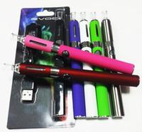 zigaretten-starter-kits evod großhandel-EVOD MT3 Blisterpackung kit eGo starter kits single kits e cigs zigaretten 650 mah 900 mah 1100 mah batterie MT3 zerstäuber