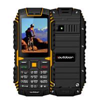 Wholesale micro gsm for sale - ioutdoor T1 G IP68 Phone Waterproof Inch Telefon Celular M M GSM MP Back Camera FM mAh Rugged Mobile Phone