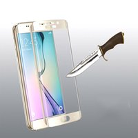 Wholesale galaxy best price for sale - For Samsung Galaxy S9 Note Note8 S8 Plus S7 Edge Case Friendly d Curved Tempered Glass Case Version Phone Screen Protector Best Price