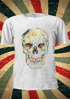 esqueleto de mariposa al por mayor-Butterfly Skull Skeleton Tumblr Instagram Moda Camiseta Hombre Mujer Unisex 1448