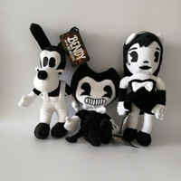 Wholesale best toys for year resale online - New Game quot cm Bendy Dog Bendy and the Ink Machine Plush Doll Toys For Chidlren Best Christmas Gift
