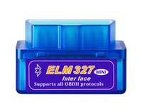 elm327 bluetooth obd2 adapter großhandel-Mini V2.1 ELM 327 OBD2 Elm327 Bluetooth Adapter Kabel Reader Scan-Tool Elm-327 Auto-diagnosescanner OBD 2 II Selbstdiagnosewerkzeug