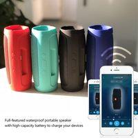Wholesale Mobile Phone Hands Free - Bluetooth Speaker Portable Wireless Stereo Speaker Charge Mini 3 Waterproof Splashproof Hands-Free Call Car Speakers With 1200mah Powerbank