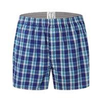 cueca para dormir venda por atacado-Nova Stly Men Lounge Calções Underwear Calças Cuecas Boxers Respirar Calças Casuais Sono Bottoms Básico Básico Homens pijamas
