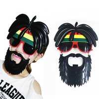 Wholesale Halloween Party Sunglasses - Moustache Sunglasses Photography Take Photo Prop Creative Funny Glasses Birthday Party Decoration Halloween Gifts 9 8sf C