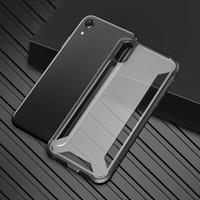 teléfonos móviles de parachoques al por mayor-Para Ip XS Max Case Hybrid Soft TPU Bumper PC Cajas del teléfono de la contraportada Para Ip XR XS MAX inquebrantación del teléfono móvil shell