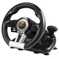 steuersteuerung steuern großhandel-PXN V3II Rennspiel Lenkrad USB Game Controller Computer Auto Fahrsimulator für PC Wii Games Wheel für PS3 PS4 Xbox