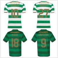 cc7126cf1 2017 2018 Scotland league Celtic soccer jerseys AWAY Armstrong GRIFFITHS  LUSTIG SINCLAIR BITTON BROWN 17 18 best quality football shirts