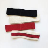 тюрбаны оптовых-Новый дизайнер вязаная повязка на голову мужчины женщины эластичные повязки на голову шарф аксессуары ретро тюрбан головные уборы подарки лучшие аксессуары для волос Quanlity