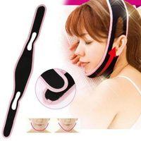 Wholesale facial massage mask - New Fashion Face Lift Up Belt Sleeping Face-lift Mask Massage Slimming Shaper Relaxation Facial Health Care Bandage