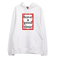 ingrosso hoodie kpop exo-Moda kpop exo luhan stesso avere un buon tempo stampa felpe per uomo donna unisex sciolto pullover in pile / felpa sottile