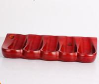 mahagoni-rohre großhandel-Mahagoni Rohrbasis 5 Rohrhalter