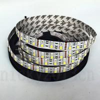 Wholesale double led strip 12v - 5050 RGBW LED Strip Light 600LEDs Double Row Non Waterproof 12V 120LEDs m RGB White Warm Up Down
