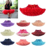 Wholesale ball ballet for sale - Child Girl Tutu Fluffy Party Skirt Princess Kid Ballet Pettiskirt Dancewear design Ballet Dancewear Tutu Skirt Dress KKA5768