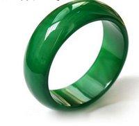 index finger ring fashions 도매-천연 마노 옥 반지 엄지 검지 손가락 크기 크리스탈 반지 손가락 남자와 여자 패션 옥 반지