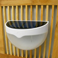 Wholesale portable wireless system - Wholesale-Outdoor Wireless Solar Energy Powered Light Sensor Emergency Lantern Pond Path LED Decor Lamp Portable Solar Home System Lighting