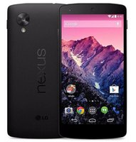 "telefono 4s 16gb al por mayor-Reacondicionado Google LG Nexus 5 D820 D821 Quad Core 2 GB 32 GB 4.95 ""Original D821 desbloqueado 3G WCDMA teléfono móvil"