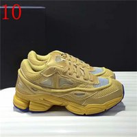 Wholesale R Medium - AUTHENTIC QUALITY RAF SIMONS CONSORTIUM OZWEEGO 2 CASUAL SHOES WITH R LOGO FOR MEN WOMEN 2018 NIGHT MARINE SNEAKERS 36-45
