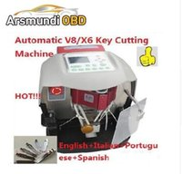 Wholesale peugeot car prices - Best Quality Professional Newest Automatic V8 X6 Car Key Cutting Machine low price With Free Database