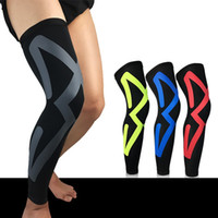 Wholesale cycling arms legs online - Outdoors Elastic Force Kneepad Unisex Fashion Fitness Basketball Riding Protective Clothing Man Cycling Legging Bicycle Accessories qy Ww