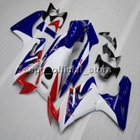Wholesale Honda Cbr125r Fairings - BLUE WHITE CBR125RR 02-07 ABS plastic kit motorcycle Fairing for HONDA CBR 125RR 2002 2003 2004 2005 2006 2007