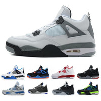 Wholesale sneakers for cheap online - Top Oreo White Cement Basketball Shoes For men Royal blue Pure Money s Cheap Classic Sports Sneakers US