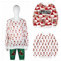 Wholesale l x l clothing online - Donald Trump Hoodie Shirt Christmas Sweatshirts D Printed Hoodies X mas Streetwear Hip hop Pullovers Tops Home Clothing OOA5911