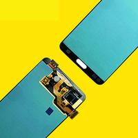 samsung note screen digitizer al por mayor-ORIGINAL 5.7 '' SUPER AMOLED para SAMSUNG Galaxy Note3 Pantalla táctil Nota 3 N9005 Piezas de repuesto del ensamblaje del digitalizador LCD