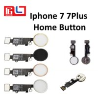 Wholesale Flex Parts - For iphone 7 7plus Home Button Fingerprint button Flex Cable Replacement parts without Touch ID and Touch Funtion