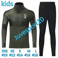 Wholesale kids Training top quality DYBALA child Football jacket tracksuit HIGUAIN de foot MARCHISIO jacket Training suit SPORTSWEAR