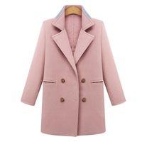 Wholesale Hooded Cloak Trench - 100% Cashmere Winter Women's Down Long Trench Coats Cloaks For Women Female Cardigan Windbreaker Coat Plus Size 5XL 50