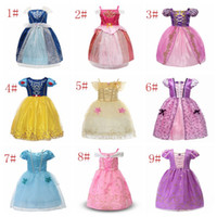 Wholesale evening gowns kids for sale - 2018 Hot Sale Kids Dresses Lace Girls Dresses Children Evening Party Ball Gown Princess Kids Show Clothing