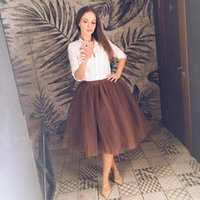 5094eed3145 49% Off. NZ  19.36 · New design women s retro european fashion high waist  Hepburn style solid color ball gown satin fabric big expansion midi long  skirt