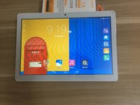 Wholesale 10 inch tablet online - Tablet PC Inch MTK6580 Quad Core G phone Android4 Tablet GB Ram GB Rom IPS Screen wifi Bluetooth