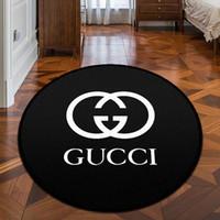 mode boden matte großhandel-Neue arrvial marke logo muster carpet mode anti-slip carpet neue wohnkultur fußmatte küche bad wohnzimmer bodenmatte hause liefert
