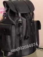 Wholesale Lavender Trimming - Top Damier Toile Macassar Christopher PM Man Backpack M43735 JOSH EXPLORER backpack School bag leather trim SIRIUS PULSE M50159 N41379